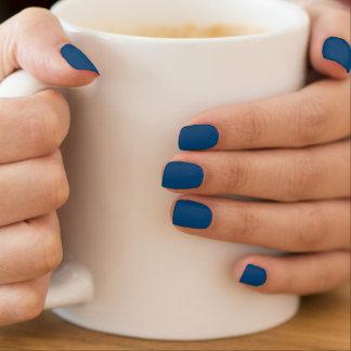 Prussian Blue colored Minx® Nail Art