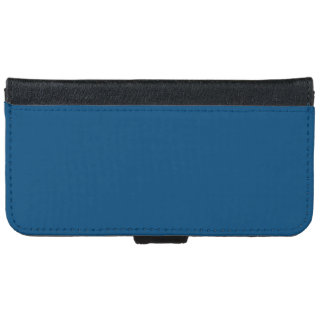 Prussian Blue colored iPhone 6 Wallet Case