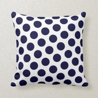 Prussian Blue Moods Throw Cushion