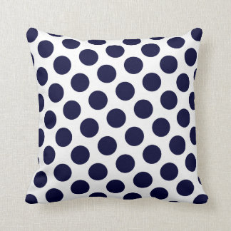Prussian Blue Moods Throw Cushion