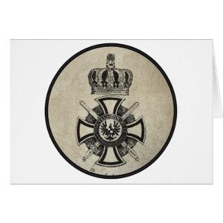 Prussian Cross Card