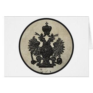 Prussian Eagle Card