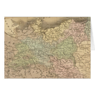 Prussian States Card
