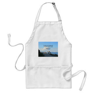 Psalm 147:3 He heals the brokenhearted... Standard Apron