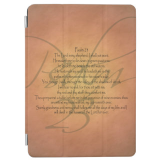 Psalm 23 KJV Christian Bible Verse Religious iPad Air Cover