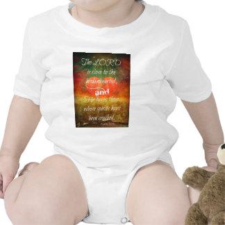 Psalm 34:18 Love Tee Shirt