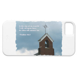 Psalms 86:7 Country Church Steeple Cross iPhone 5 Cover