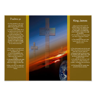 Psalms chapter 91 Posters 1