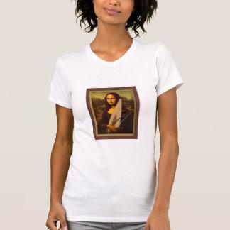 Psaltery Mona Lisa Ladies T-shir T-Shirt