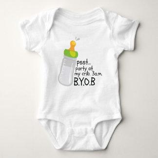 PSST. Party At My Crib. 3AM BYOB Baby Bodysuit