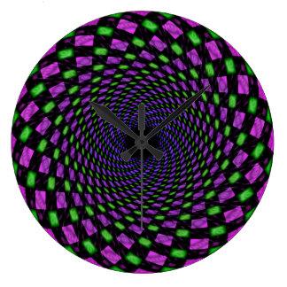Psy spiral (hole) clocks