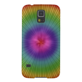Psychedelic and fun galaxy s5 cover