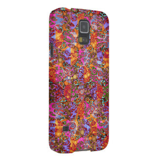 Psychedelic Animal Print Patterns Galaxy S5 Cover