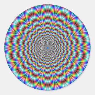 Psychedelic Eye Bender Sticker