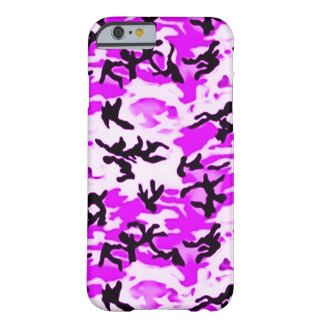 Psychedelic Purple Camo Barely There iPhone 6 Case
