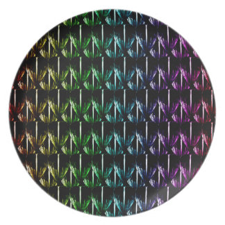 Psychedelic Scales Plate