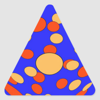 Psychedelic Series 2 Triangle Sticker