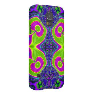 Psychedelic Trippy Pattern Galaxy S5 Case