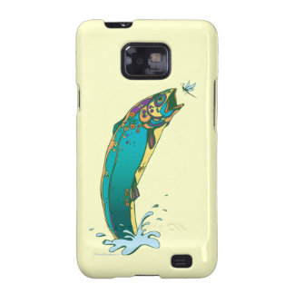 Psychedelic Trout Fishing Samsung Galaxy S Cover