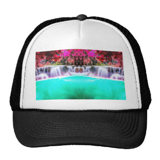 Psychedelic Waterfall Cap