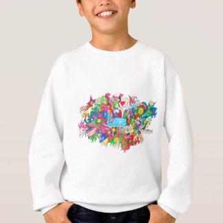 Psychedelic Whale Sweatshirt