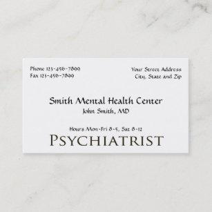 Psychiatrist mental business cards zazzle nz psychiatrist mental health business card colourmoves