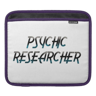 Psychic Researcher iPad Sleeve