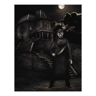 Psycho Customizable Halloween Flyers
