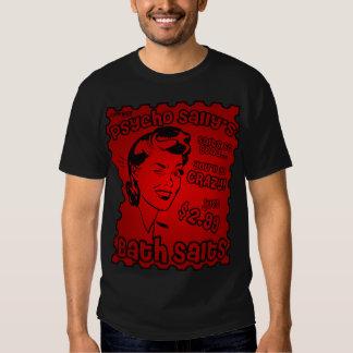 Psycho Sally's Bath Salts - Custom - DEEP RED LOGO T-shirt