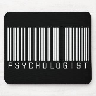 Psychologist Bar Code Mouse Pad