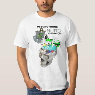 Psychotoons Nurd Personality T Shirt