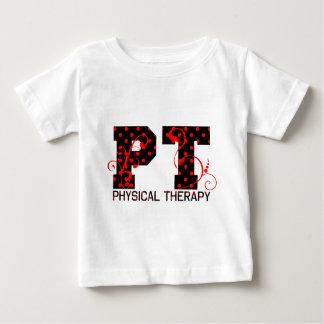 pt black red polka dots baby T-Shirt