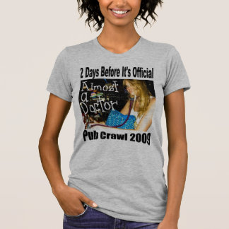pub crawl tshirt design