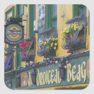 Pub, Dingle, Dingle Peninsula, County Kerry, Square Sticker