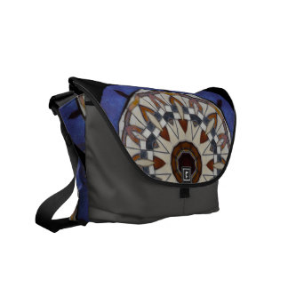 Pub Tile Messenger Bag