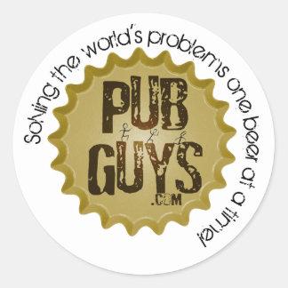 PubGuys Sticker (small)
