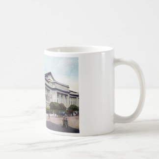 Public Library, New York City 1915 Vintage Coffee Mug