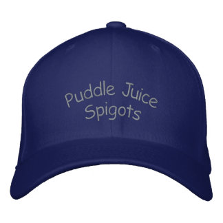 Puddle Juice Embroidered Hat