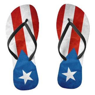 Puerto Rican Pride Jandals