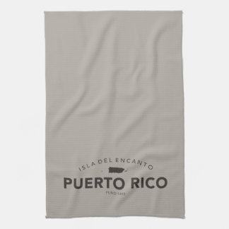 Puerto Rico Bar or Kitchen Tea Towel
