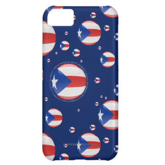 Puerto Rico Bubble Flag iPhone 5C Case