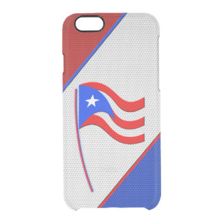 Puerto Rico Clear iPhone 6/6S Case