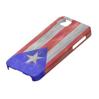 Puerto Rico distressed Puerto Rican flag iPhone 5 Cover