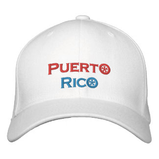 Puerto Rico Embroidered Hat