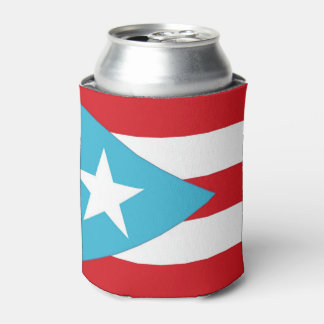 Puerto Rico Flag Can Cooler