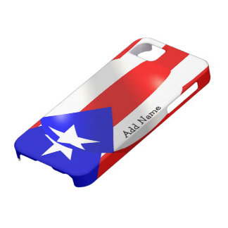 Puerto Rico Flag Case For The iPhone 5