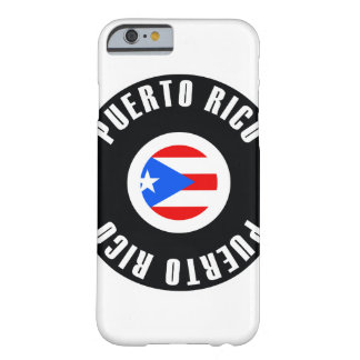 Puerto Rico Flag Simple Barely There iPhone 6 Case