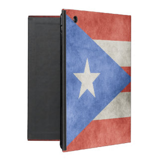 Puerto Rico Grunge Flag iPad Case