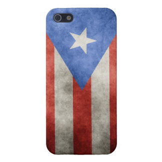 Puerto Rico Grunge Flag iPhone 5/5S Cover