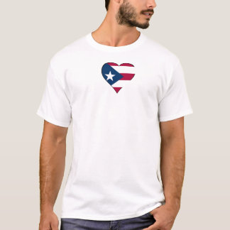 Puerto Rico Heart T-Shirt
